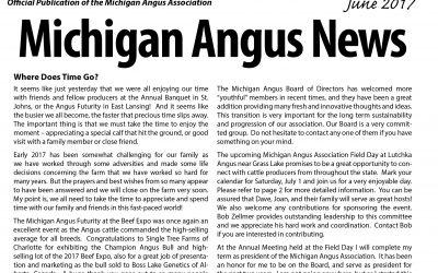 June 2017 Michigan Angus News