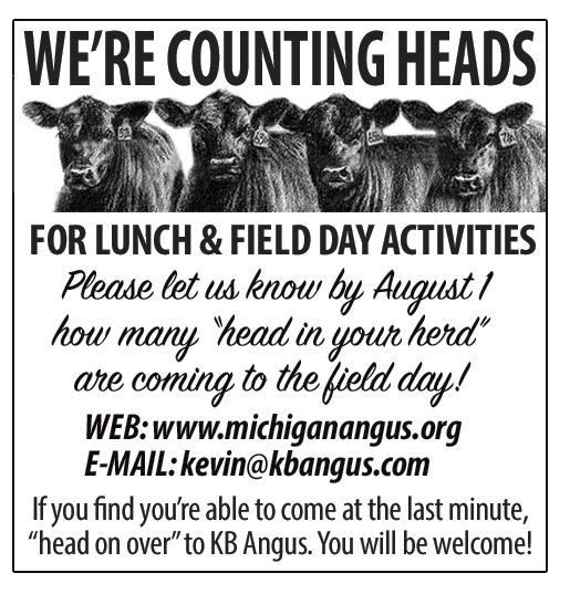 Michigan Angus Field Day Reply