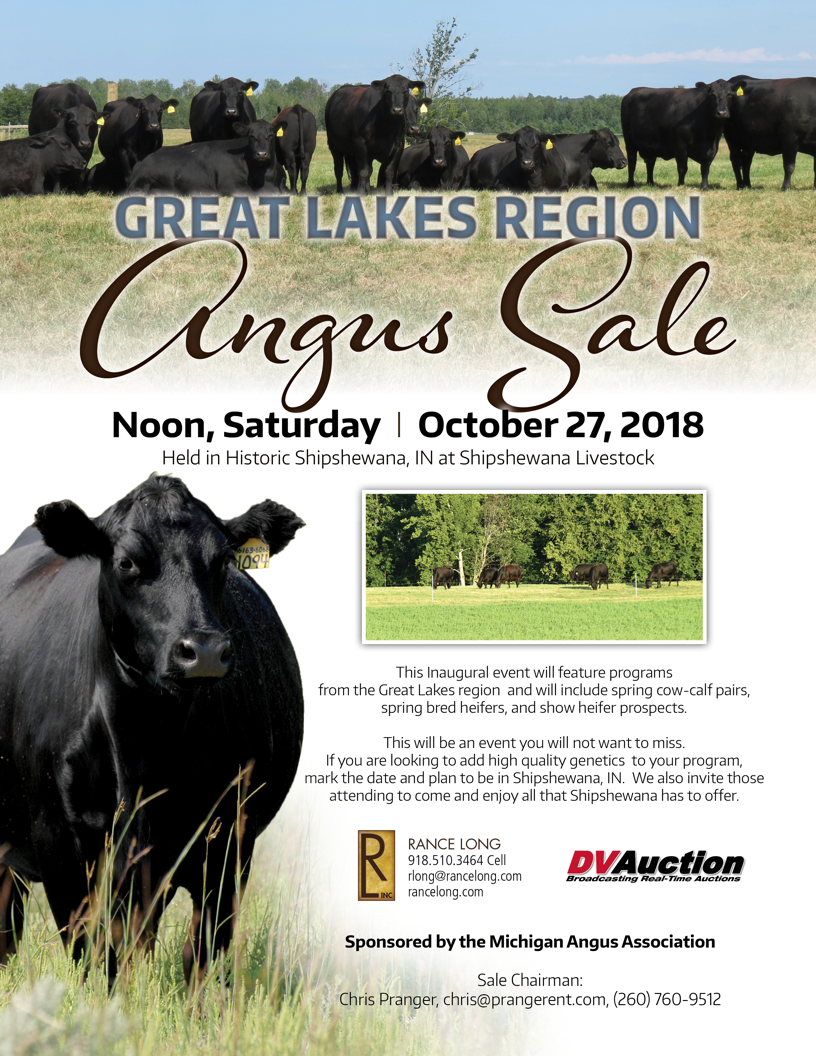 Great Lakes Region Angus Sale