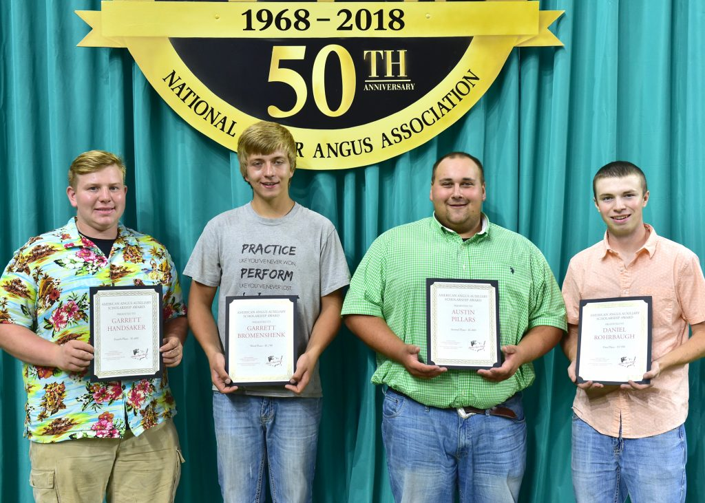 Auxiliary's Male Scholarship Winners