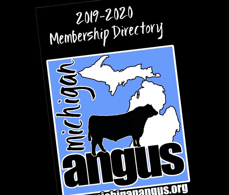 2020 Michigan Angus Directory