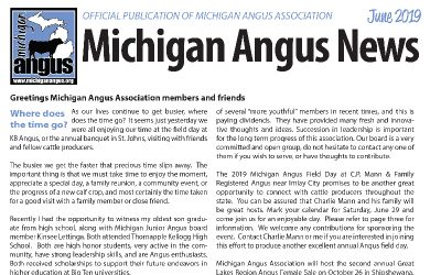 June 2019 Michigan Angus News