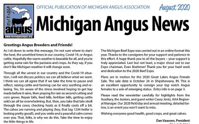 August 2020 Michigan Angus News