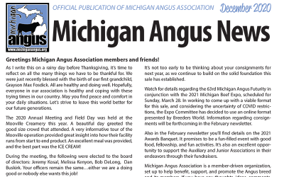 December 2020 Michigan Angus News