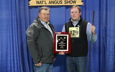 2020 North American International Livestock Exposition (NAILE) Super Point Roll of Victory (ROV) Angus Show