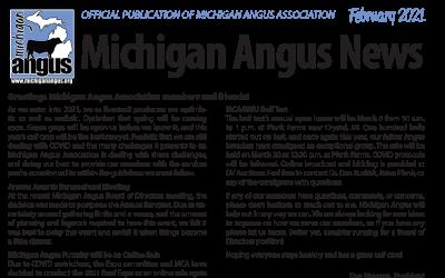 February 2021 Michigan Angus News