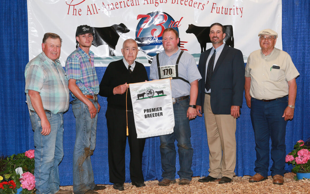 2021 All-American Angus Breeders' Futurity Roll of Victory (ROV) Show Results