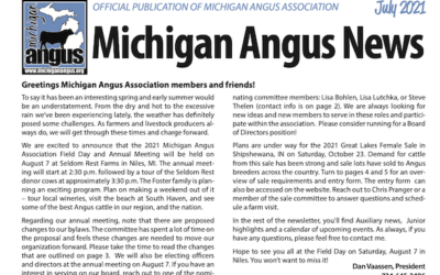 Michigan Angus News July 2021